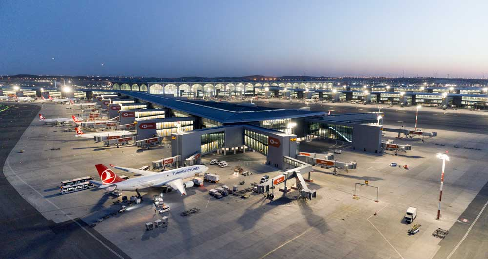 17.7 m passengers used Turkish airports in Q1
