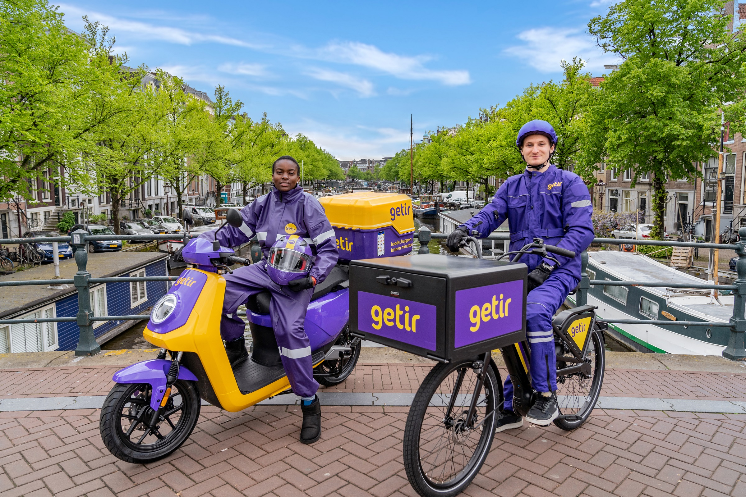 Getir starts its operations in Amsterdam - TR MONITOR