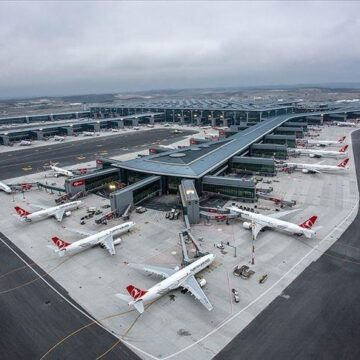 Airports hosted 30 million passangers in five months