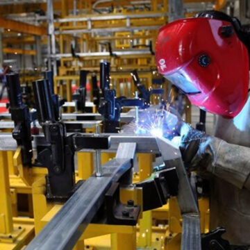 Industrial production index up in April