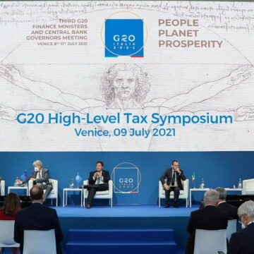 G20 LEADERS GATHER TO DISCUSS MINIMUM GLOBAL TAX, ECONOMIC SUPPORT